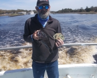 Half Day Fish Pool Winner Dave W. from Pasadena, MD